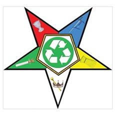 OES Recycling Wall Art Poster
