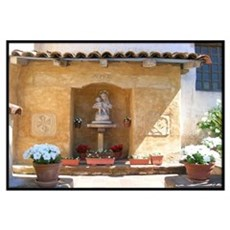 Carmel Mission Wall Art Framed Print