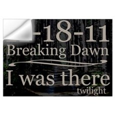 11-18-11 I Was There Breaking Wall Art Wall Decal