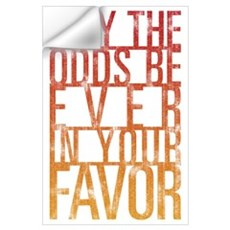 May The Odds Wall Art Wall Decal