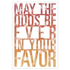 May The Odds Wall Art