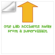 Lab Accident Wall Art Wall Decal