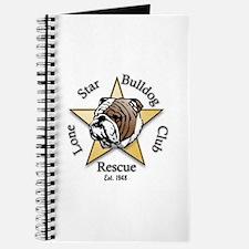 Cute Lone star boxer rescue Journal