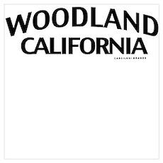 Woodland Wall Art Poster