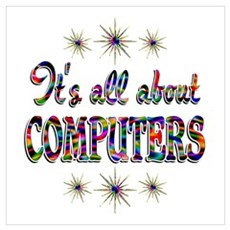 About Computers Wall Art Poster