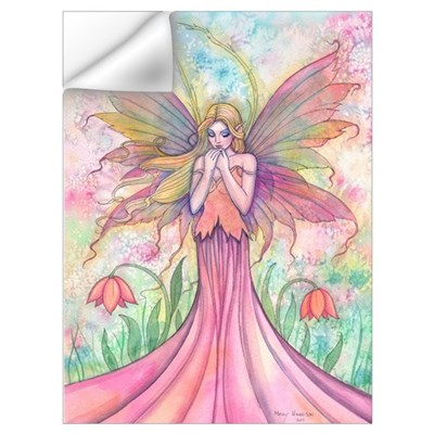 Wildflower Fairy Art Wall Art Wall Decal