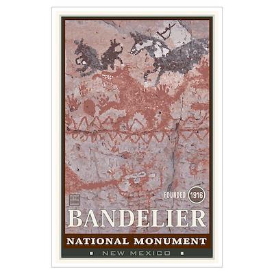 Bandelier 1 Wall Art Poster