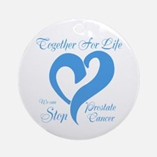 Stop Prostate Cancer Ornament (Round)