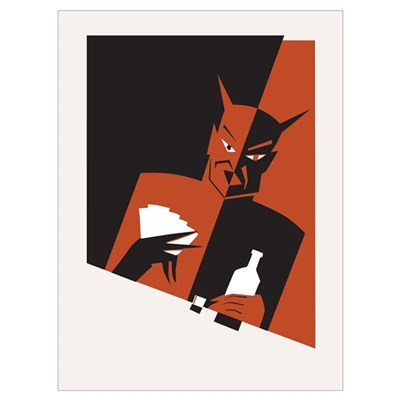 ''The Devil's Vices'' Wall Art Poster