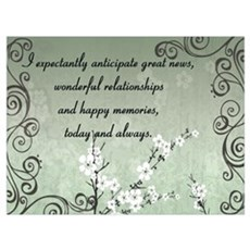 Anticipation Wall Art Framed Print