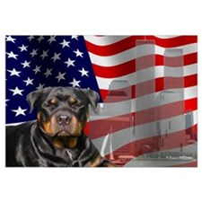 Rotties were there! Wall Art