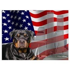Rotties were there! Wall Art Framed Print