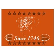 Browns Legacy Wall Art Poster