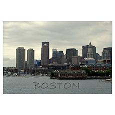 Boston Wall Art Poster