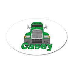 Trucker Casey 22x14 Oval Wall Peel