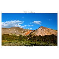 Mini Poster Brittle Silver Basin, CO Poster