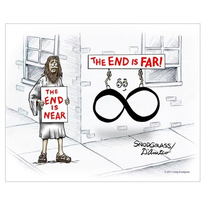 End is Far Wall Art Poster