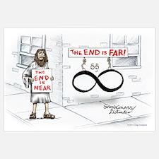 End is Far Wall Art