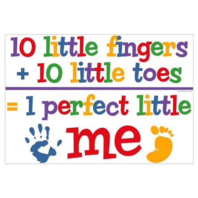 Fingers and Toes Wall Art Canvas Art