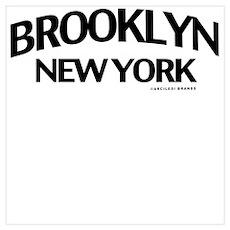 Brooklyn Wall Art Poster