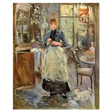 Artist -- Berthe Morisot Wall Art Canvas Art