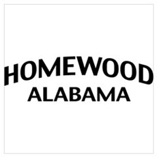 Homewood Alabama Wall Art Poster