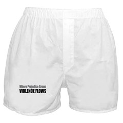 Violence Flows Boxer Shorts