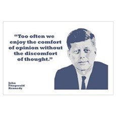 Kennedy - Opinion Wall Art Poster