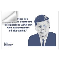 Kennedy - Opinion Wall Art Wall Decal