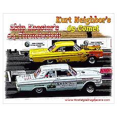 Skip & Kurt Wall Art Poster