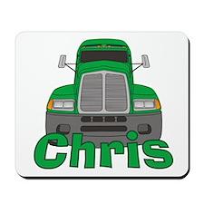 Trucker Chris Mousepad