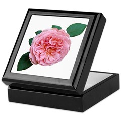 Old-fashioned Rose Keepsake Box