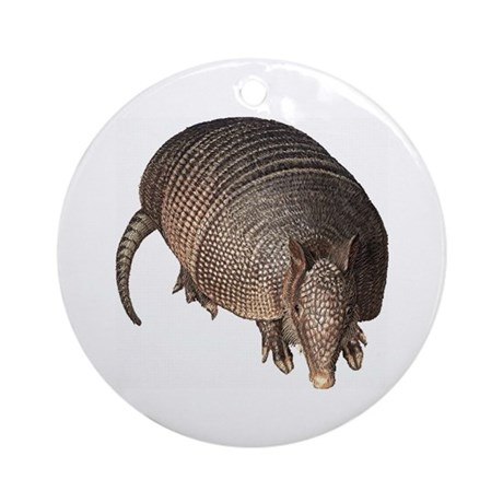 Armadillo Ornament (Round)