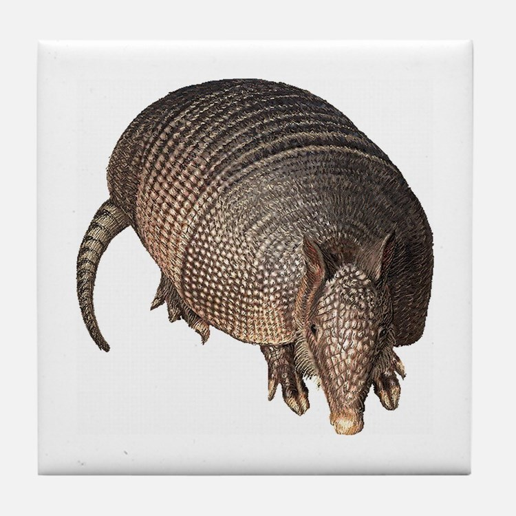 Armadillo Tile Coaster