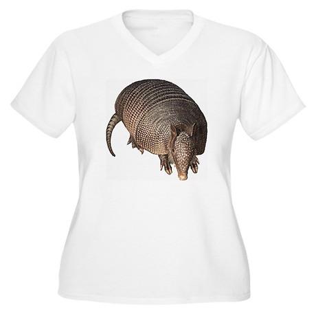 Armadillo Women's Plus Size V-Neck T-Shirt