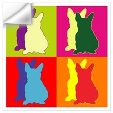 French Bulldog Silhouette Pop Art Wall Art Wall Decal