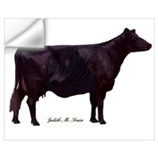 Angus Cow Wall Art Wall Decal