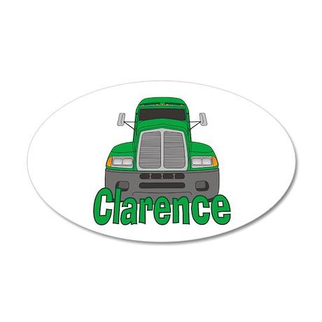 Trucker Clarence 22x14 Oval Wall Peel