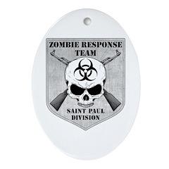 Zombie Response Team: Saint Paul Division Ornament