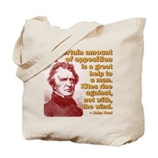 Rise Against The Wind Tote Bag