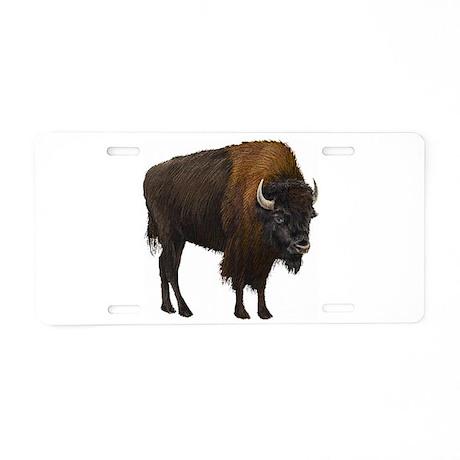Buffalo Aluminum License Plate