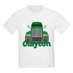 Trucker Clayton Kids Light T-Shirt