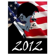 Obama 2012 Wall Art Poster