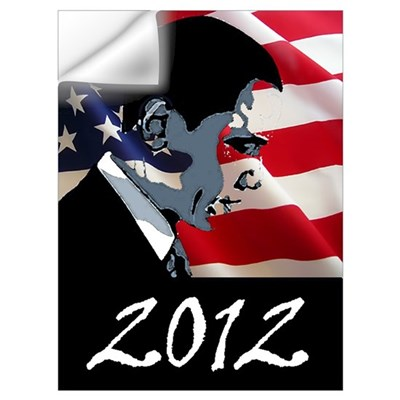 Obama 2012 Wall Art Wall Decal