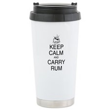 Keep Calm and Carry Rum Thermos Mug