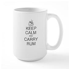 Keep Calm and Carry Rum Mug