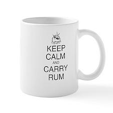 Keep Calm and Carry Rum Small Mug