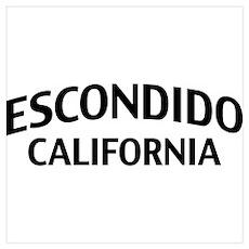 Escondido California Wall Art Poster