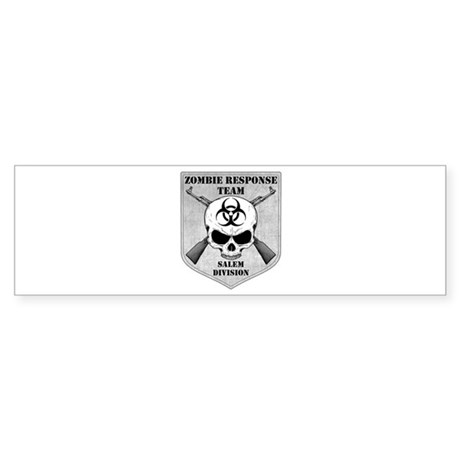 Zombie Response Team: Salem Division Sticker (Bump