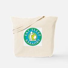 Eat Sleep KARAOKE Tote Bag